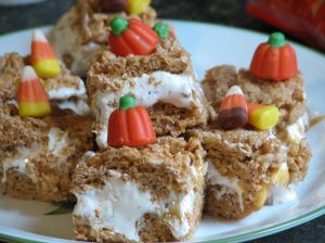 Crispy Treat pumpkin